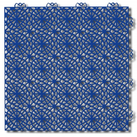 Podłoga warsztatowa Bergo XL niebieska