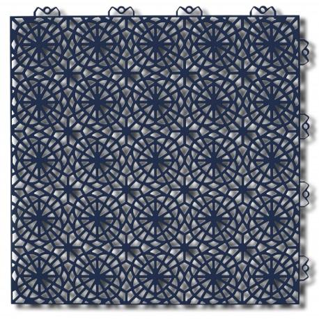 Podłoga plastikowa Bergo XL niebieska stal