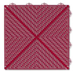 Podłoga na tarasy Bergo Unique czerwona