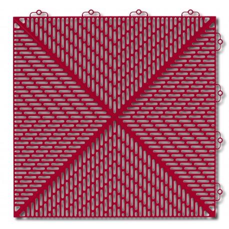 Posadzka warsztatowa Bergo Unique czerwona
