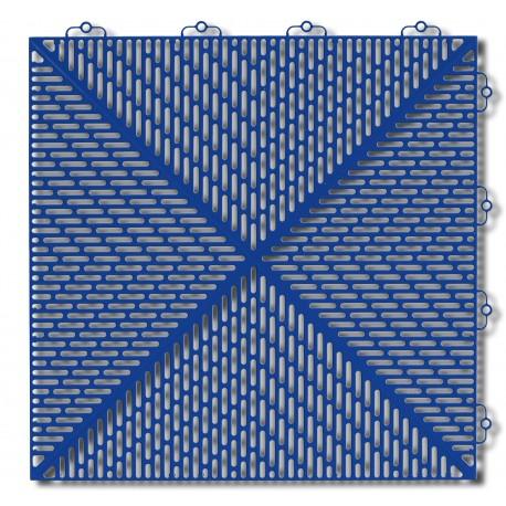 Płytki garażowe Bergo Unique niebieskie