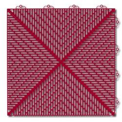 Płytki garażowe Bergo Flooring Unique czerwony