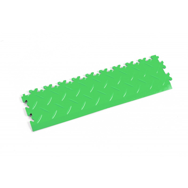 Elementy Najazdowe Podłoga do Sklepu - Rampa Light Green diament