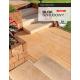 Blok schodowy marmurowy - kostka tarasowa