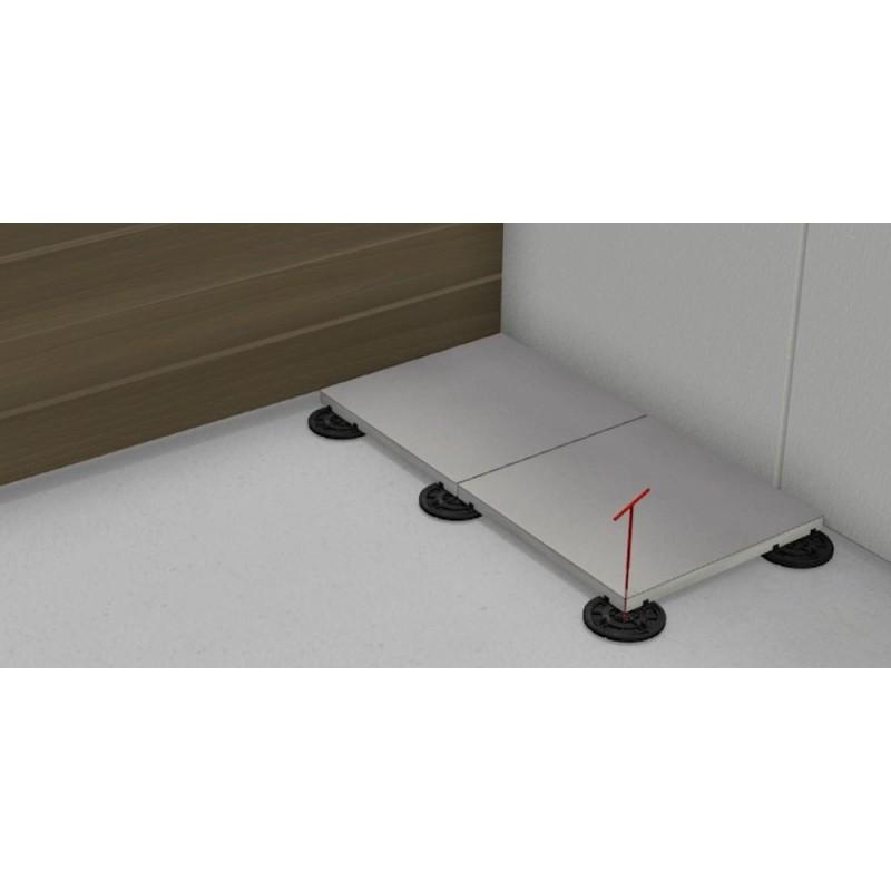 Posadzka przemysłowa płytki pcv r-tile czerwona
