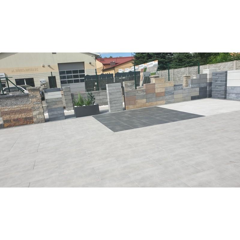 Płytki Garażowe FORTELOCK ECO BLACK 2020 skóra czarna